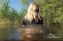 Video: Carp Girl Andy z týmu H2O a její kapři